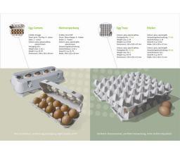 Egg trays 17Lbs - 30eggs