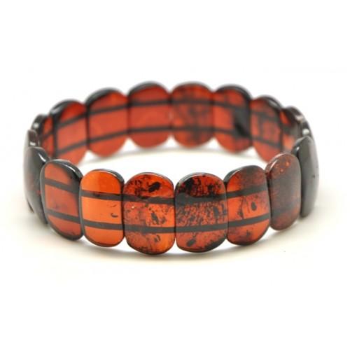 Cherry classic Baltic amber bracelet