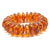 Amazing  Baltic amber cognac bracelet 73 g