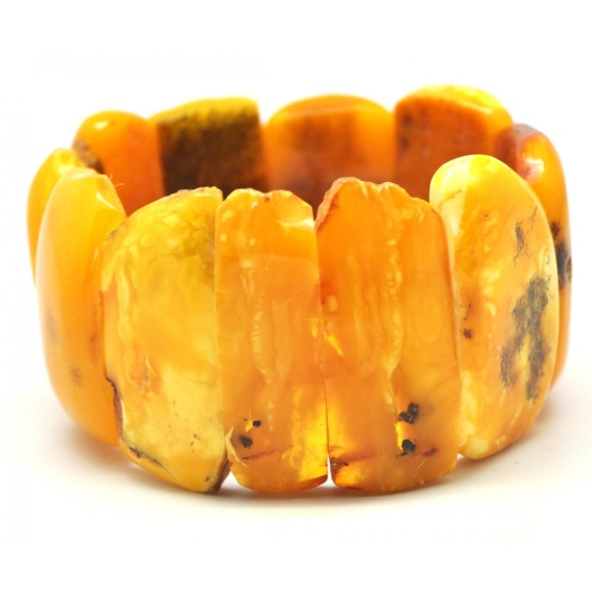 Real antique Baltic amber bracelet 70 gr.