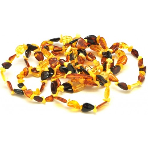 10 beans and nuggets Baltic amber bracelets