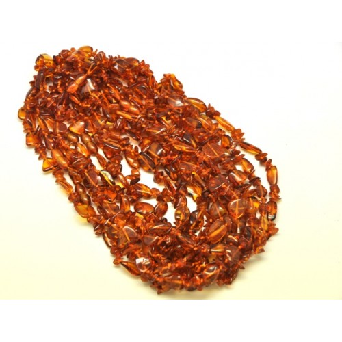 10 Beans and nuggets Baltic amber necklaces