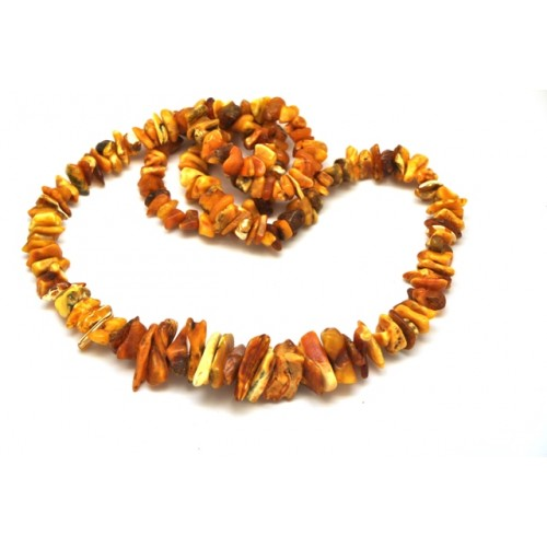 Real antique Baltic amber necklace
