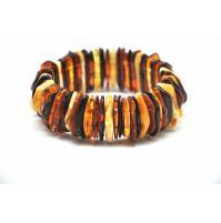 Wild Baltic amber bracelet