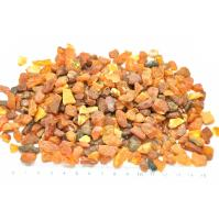 Small raw Baltic amber material 100g.