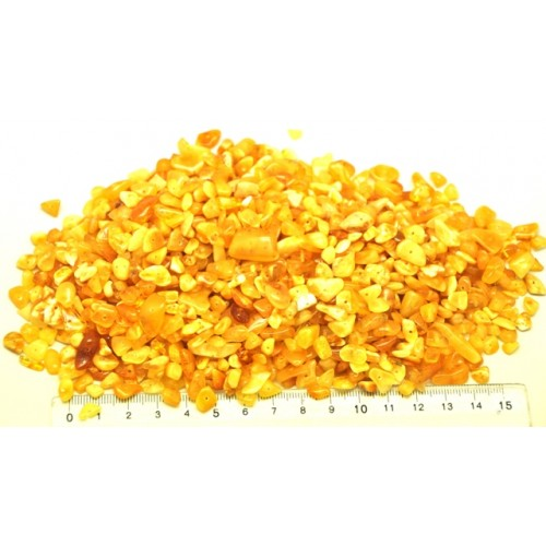 Loose drilled Baltic amber nuggets 100 gr