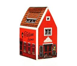 Ceramic miniature house #MI505