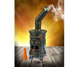 Ceramic stove - incense burner #SK30 Black