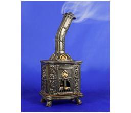 Ceramic stove - incense burner #SK32G Black