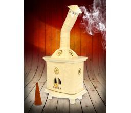 Ceramic stove - incense burner #SK32WG
