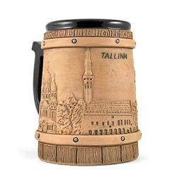 Hand made ceramic mug #35XT