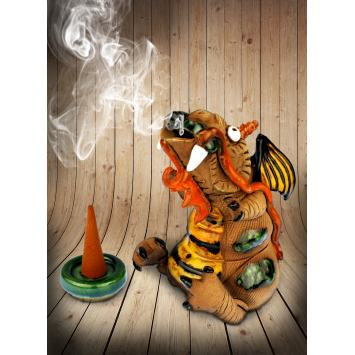 Hand made ceramic figure - Dragon #SK07