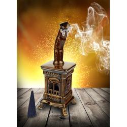 Ceramic stove-incense burner #SK31M-..