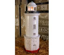 Hand made ceramic lighthouse Uzava #175